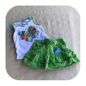 6/$15 3T Disney Fairies outfit